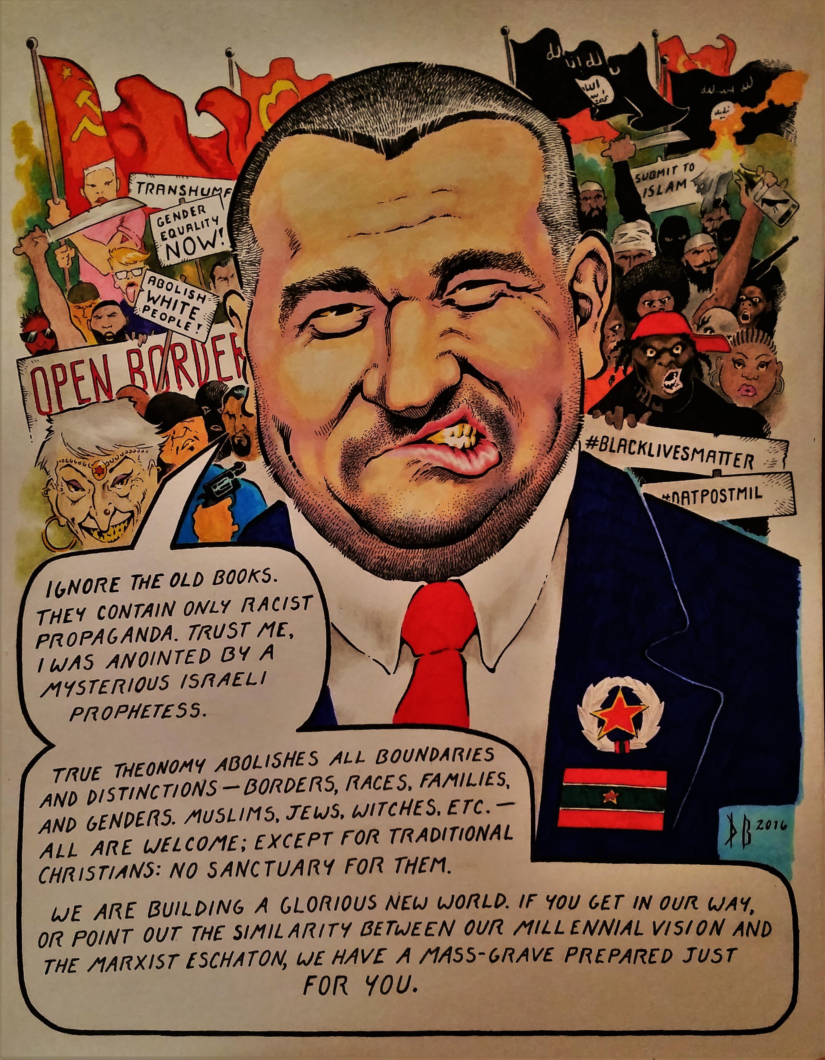 Bojidar-Marinov-cultural-Marxism-open-borders-#BlackLivesMatter-prophetess-racism-theonomy-postmillennialism-Bulgarian-continuationism-cessationism-feminism