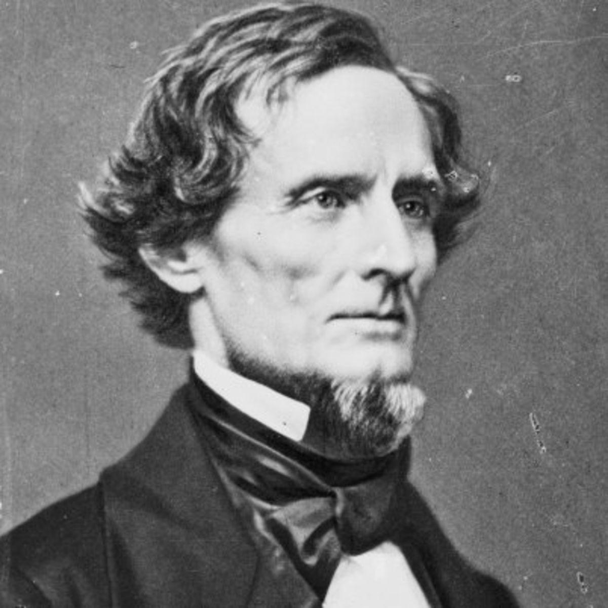 Jefferson Davis-president-Confederacy-Secretary of War-Battle of Buena Vista-Fort Sumter-Mississippi-Brierfield Plantation